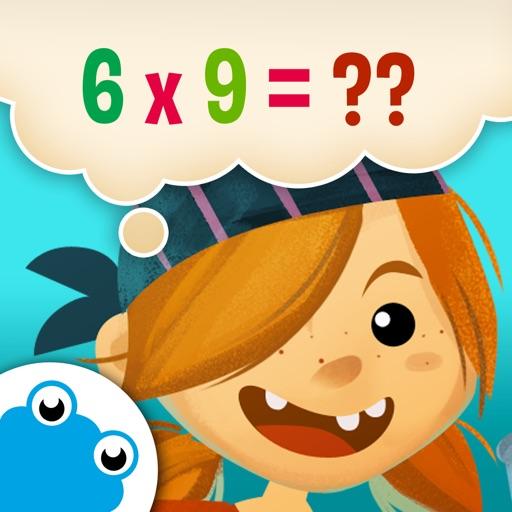 数学船长 - 儿童算术游戏:加减乘除法