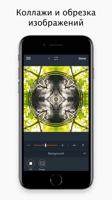 Как на айфоне сделать зеркальное отражение фото 173