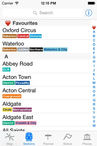 London Tube Map and Guide screenshot 3