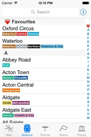 London Tube Map and Guide screenshot 3