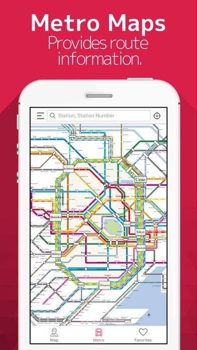 Japan Tour Offline Map Metro On The App Store - Japan map offline