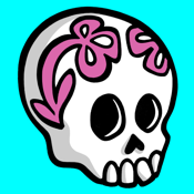 Sugar Skull Stickers Vol1 app review