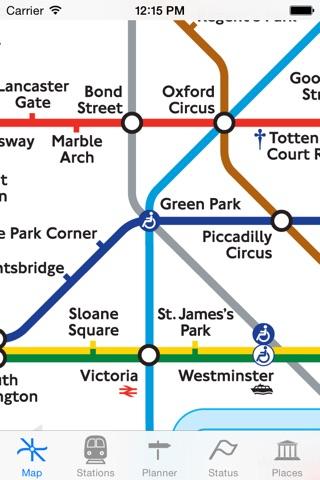 London Tube Map and Guide screenshot 1