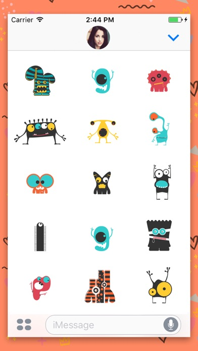 download Cute Monster Animated Stickers apps 2
