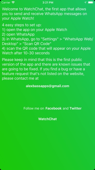 WatchChat for WhatsApp screenshot 2