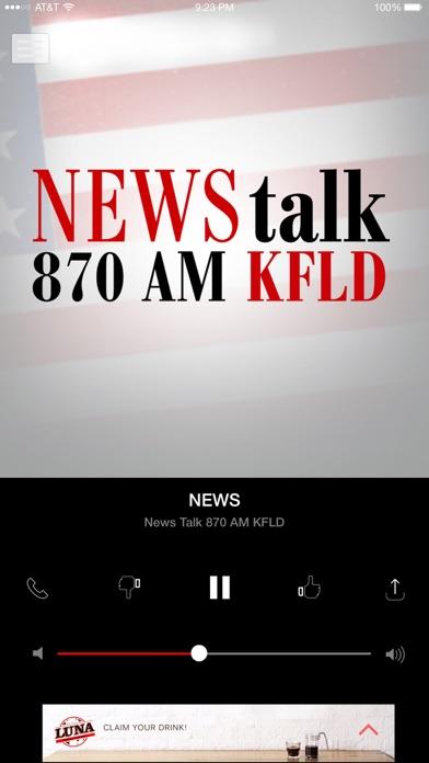 Newstalk 870 KFLD - Tri-Cities screenshot 3