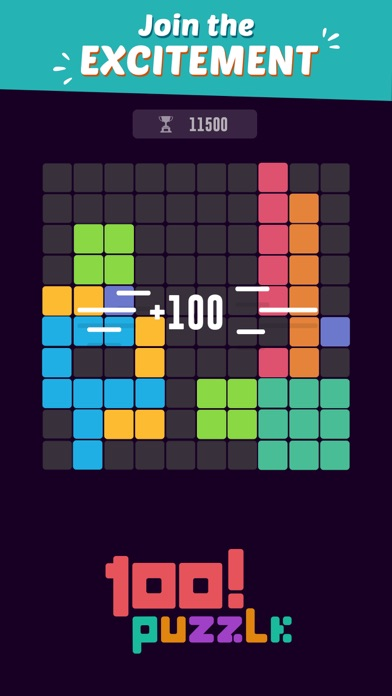 AppChase™ - 100! Block Puzzle