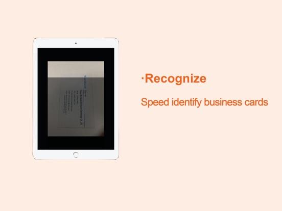 WeCard&business card scanner Screenshots