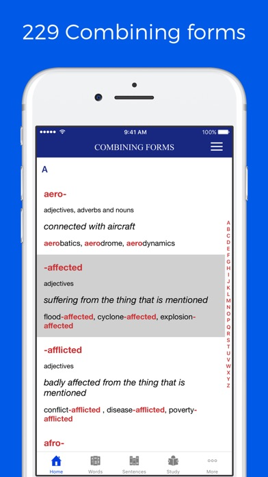 Combining Forms Dictionary on the App Store