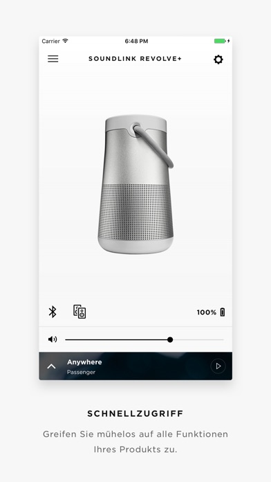 Bose Connect Screenshot