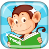 Monkey Junior: kids learn to read English, French