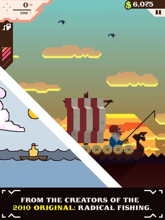 Игра Ridiculous Fishing - A Tale of Redemption