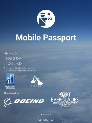 Mobile Passport screenshot 1