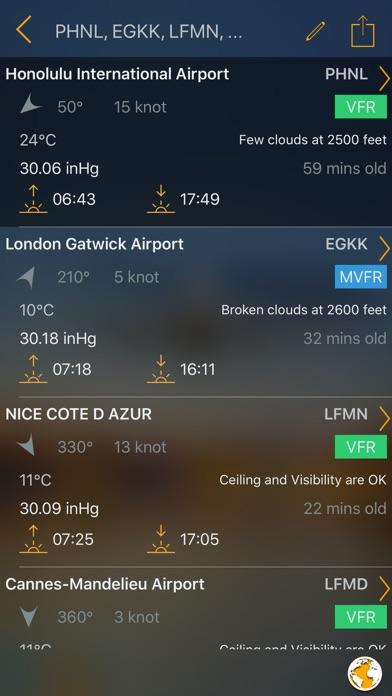 Aviation Weather Group ManagerScreenshot of 2