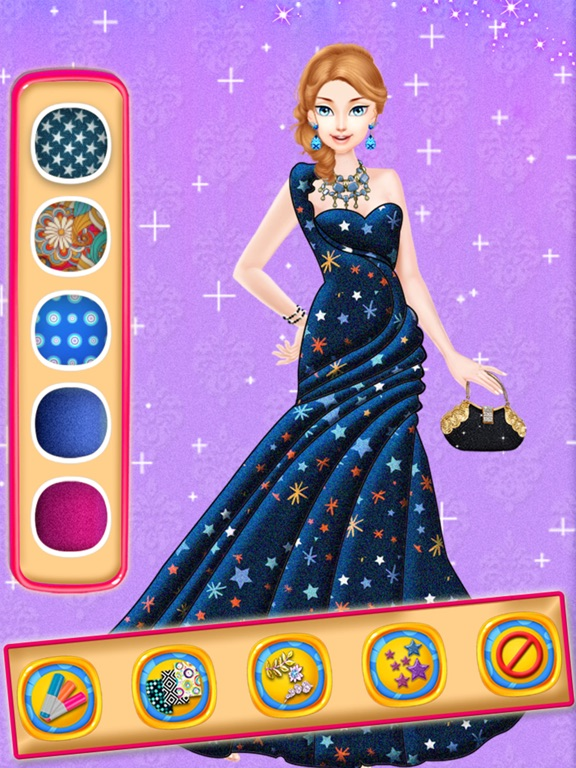App shopper stylish fashion designer girls game games Wedding dress design app