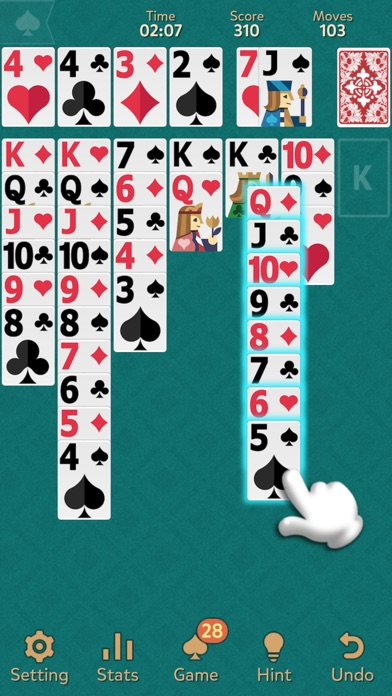 Klondike Solitaire: Kingdom screenshot 3