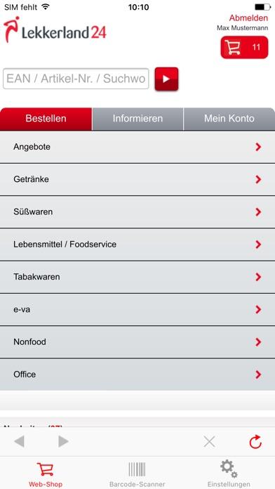 Screenshot von Lekkerland243