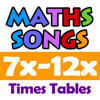 Maths Songs: Times Tables 7x - 12x HD