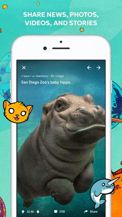 Screenshot 1 for Reddit's iPhone app'