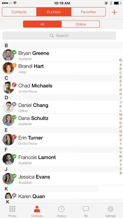 Bria Stretto - VoIP SoftphoneСкриншоты 4