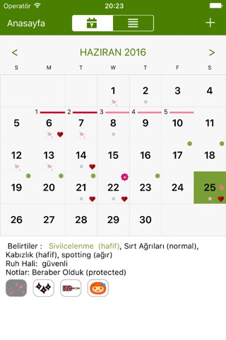 Period Tracker Deluxe screenshot 2