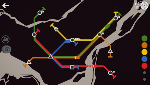 Mini Metro Screenshot