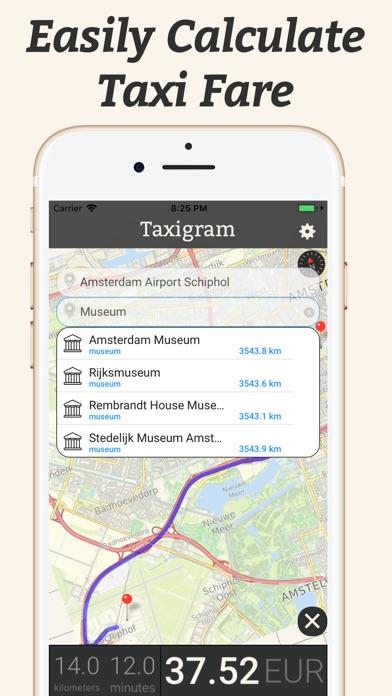 Screenshot of Super Taxigram3