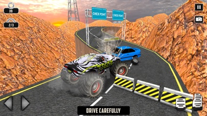 Off-road Monster Truck Game Скриншоты5
