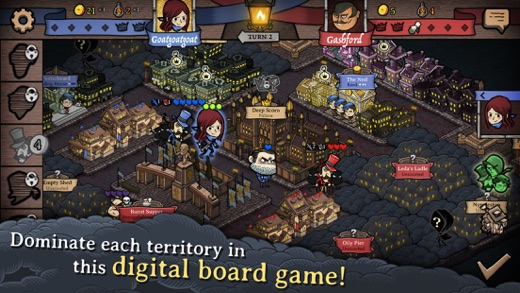 Antihero - Digital Board Game Screenshots