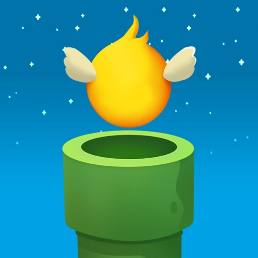 Flappy Ball-Original 3D Wings