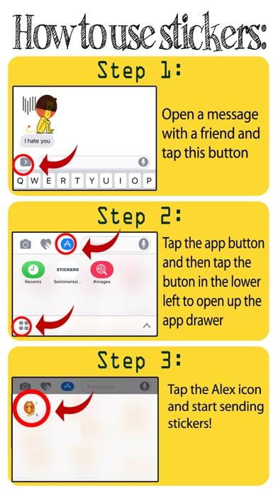 download Alex - Lion Emoji GIF apps 2