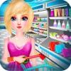 Supermarket Shopping Mall Girl