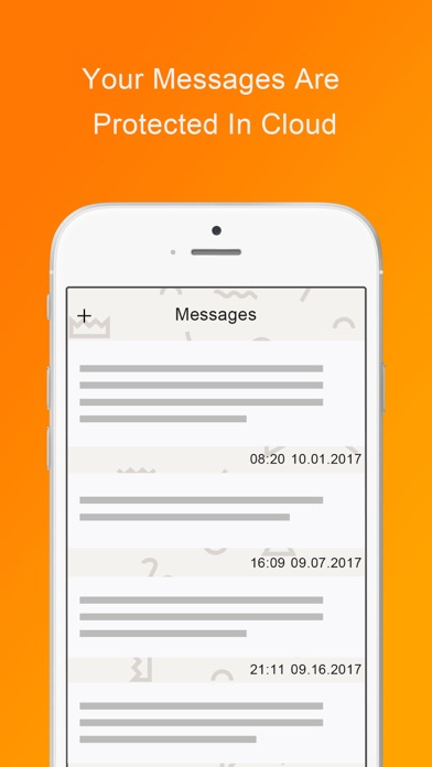 MLock-secure cloud for message screenshot 3