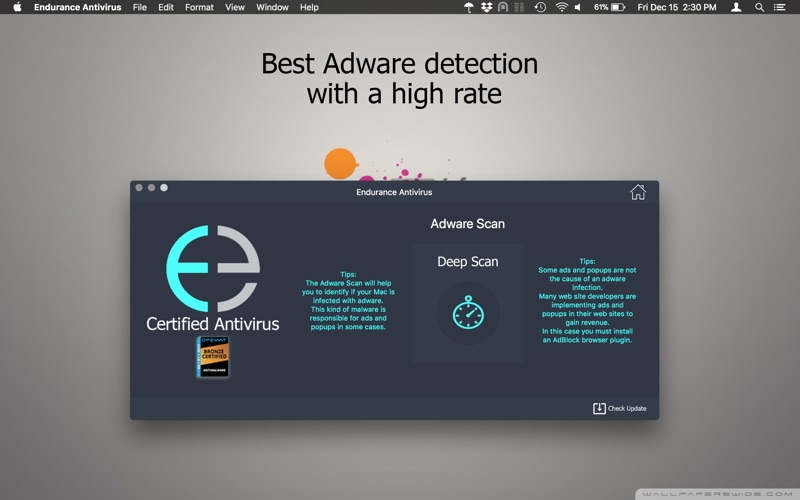 Endurance Antivirus Screenshots