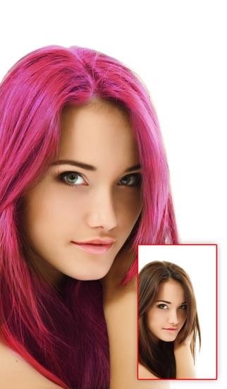 Программа изменяющая цвет волос онлайн
