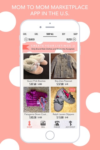 ENVIE - Buy&Sell Kids Fashion screenshot 1