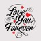 download Love Typography Stickers