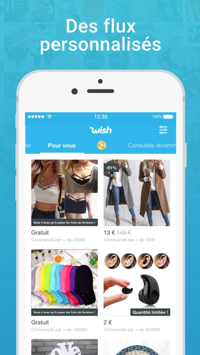 download Wish - Acheter en s'amusant apps 3