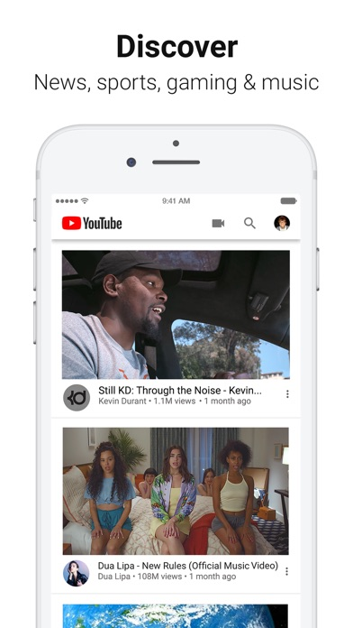 YouTube: Watch, Listen, Stream screenshot 2