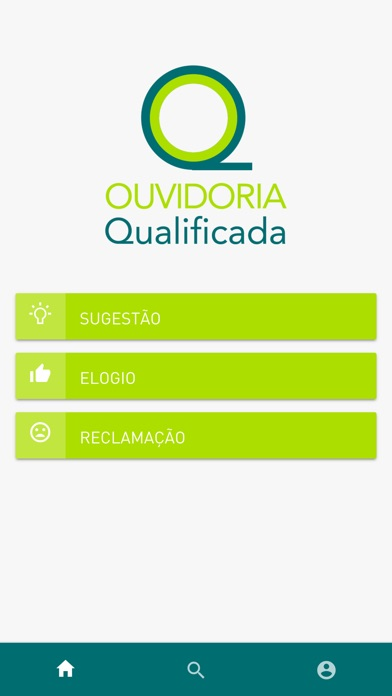 Ouvidoria Qualificada screenshot 1
