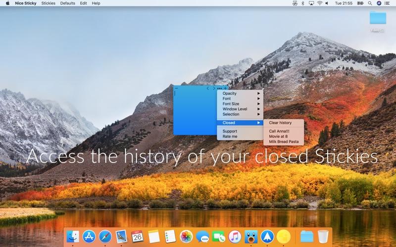 Nice Sticky: desktop notes on the Mac App Store