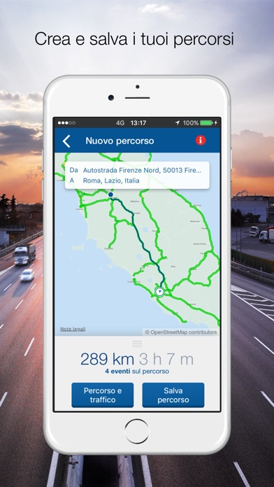MY WAY  l'App ufficiale di Autostrade per l'Italia Screenshot