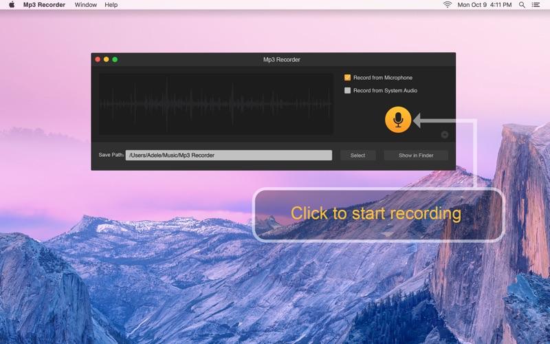 Mp3 Recorder 앱스토어 스크린샷