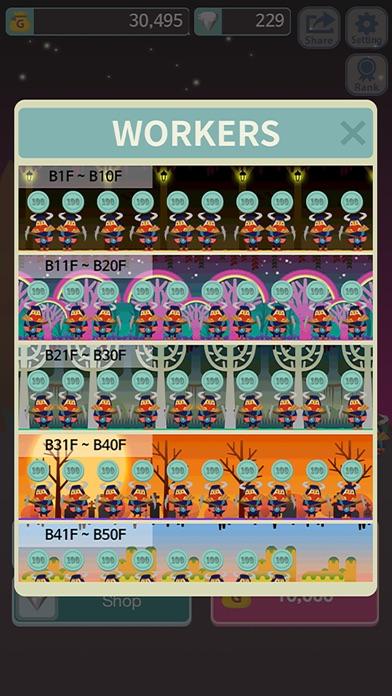 無限ダンジョン Evolutionのスクリーンショット3