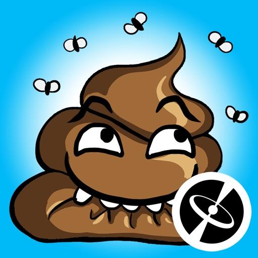 poop cute stickers yuri app