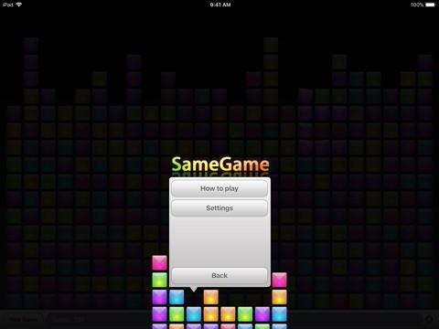 SameGame screenshot 3