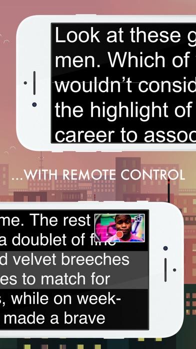 Autocue App Screenshots