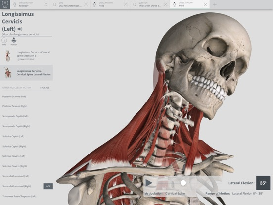 Complete Anatomy 2018 +Courses Screenshot