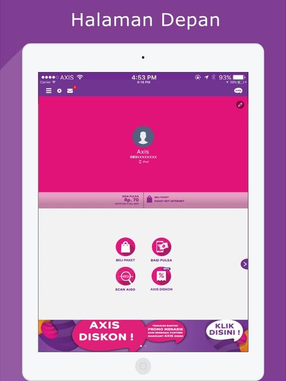 AXIS net iPad