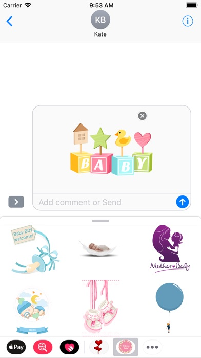 download Baby Love Stickers apps 1